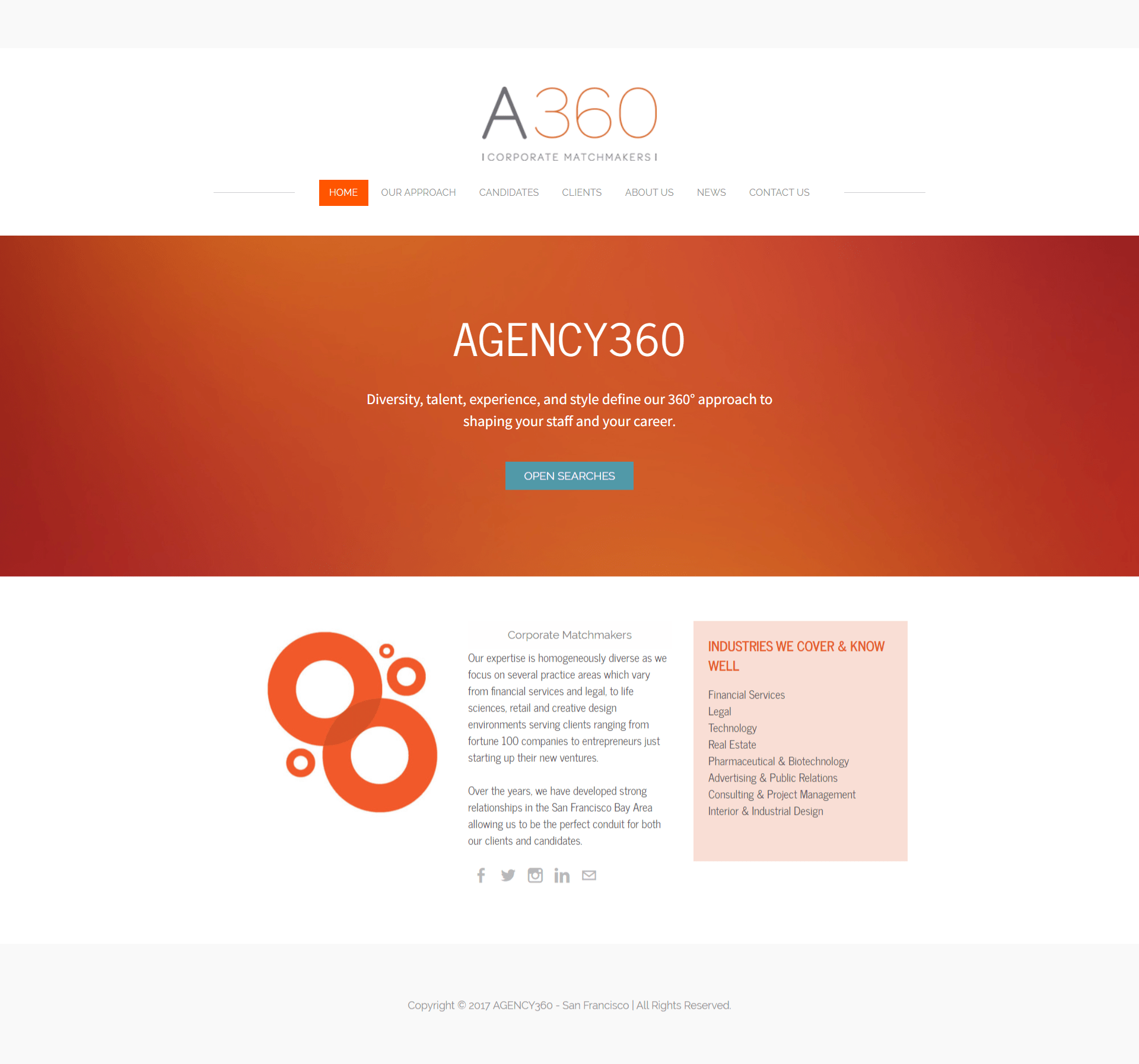 AGENCY360 San Francisco - Executive Search Firm - AGENCY360 - HOME_ -
